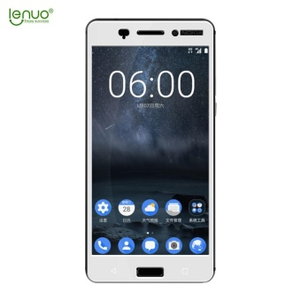 Harga Lenuo Anti-Burst Tempered Glass Protective Film Full Screen Protector for Nokia 6 - intl