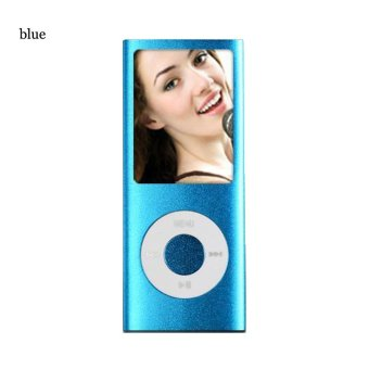 Harga iPod Mp3 Player Mp4 Player + Free 8 GB Miro Card + Free Earphone (Blue)
