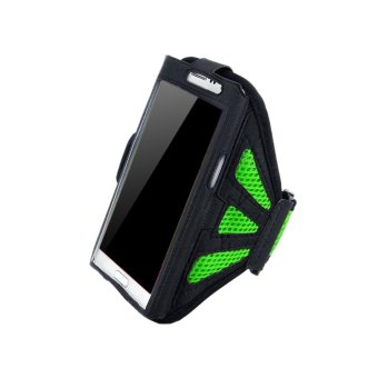 Harga ELENXS Sports Arm Band Case Cover Holder For Iphone6 /Plus Samsung Running Jogging Outdoor Durable Lightweight Green &For Iphone6/Samsung S3/S4/S5