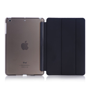 Welink Ultra Slim Smart Cover PU Leather Case for Apple ipad mini1/2/3 (Black) - intl