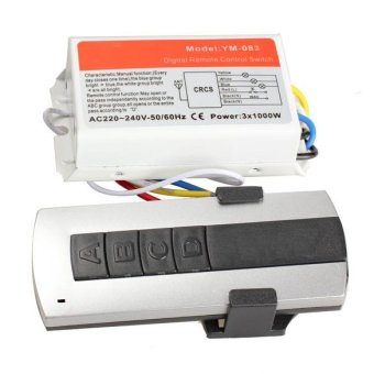 Harga 3 Channel Remote Control Switch - intl