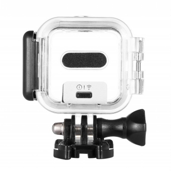 Harga Waterproof Protective Skeleton Housing Case with Bracket for GoPro HERO4 Session
