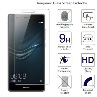 Harga Ueokeird 9H HD Clear Tempered Glass Screen Protector Film For Huawei Ascend P9 Plus - intl