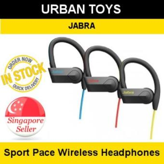 Harga Jabra Sport Pace Wireless Headphones / Singapore Seller / 3 Years Warranty by Jabra Singapore / Rapid Charging / Voice Guidance