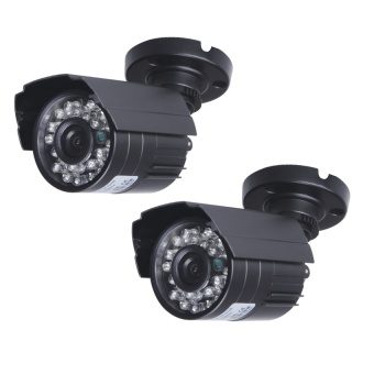 Harga SW 1200TVL Surveillance CCTV Camera with High Resolution NightVision Security cameras - intl