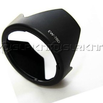 Harga Black EW-78D Lens Hood for CANON EF-S 18-200mm f/3.5-5.6 IS - intl