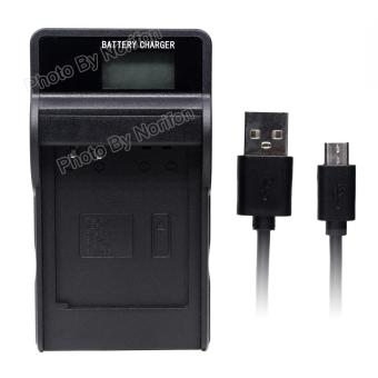 Harga NB-6L LCD Ultra Slim USB Charger for Canon PowerShot SX530 HS SX610 HS SX710 HS SD1200 IS SD1300 IS S120 IXY 10S IXY 30S Camera and More - intl