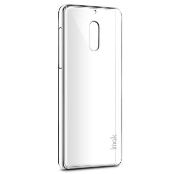 Harga IMAK Extra Wear Hard Plastic Crystal Back Cover case For Nokia 6 - (Transparent Clear) - intl