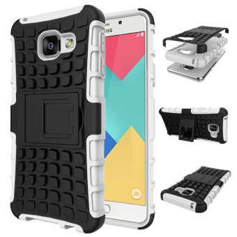 Harga Ueokeird Heavy Duty Shockproof Dual Layer Hybrid Armor Protective Cover with Kickstand Case for Samsung Galaxy A3 2016 - intl
