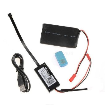 Harga BUYINCOINS Hot WIFI Monitoring Hidden Camera Module Phone Remote Control Full HD 1080P - intl