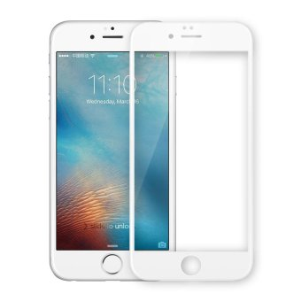 NILLKIN 3D CP+ MAX for iPhone 6s Plus/6 Plus Full Size Curved Tempered Glass Screen Guard Anti-explosion - White - intl