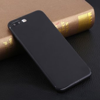 Harga Phone Case Skin Ultra Thin Slim Silicone Anti-Skid Back Protective Cover Shell For iPhone7 Plus - intl