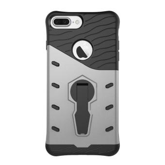 Heavy Duty Shockproof Dual Layer Hybrid Armor Defender Full Body Protective Cover with 360 Degree Rotating Kickstand Case for Apple iPhone 7 Plus - intl
