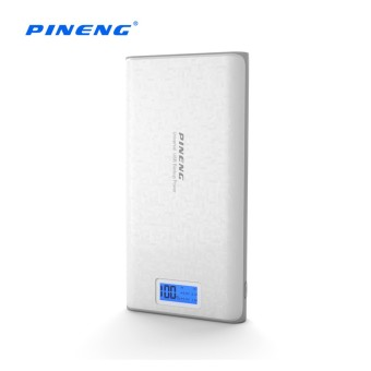 Harga Pineng PN-920 20000mAh Dual USB Port Powerbank (White)