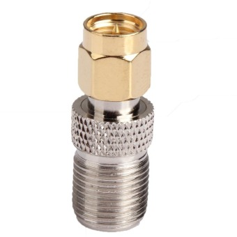 SMA Male Plug to F Type Female Jack Adapter Straight Connector Converter