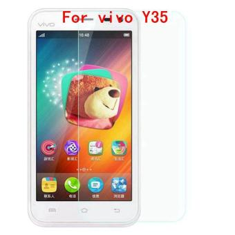 Harga 9H Tempered Steel Glass Ultra-thin HD Scratch-proof Film Screen Protective For vivo Y35 - intl