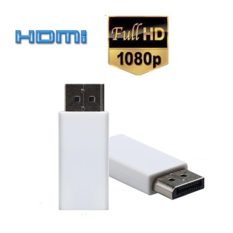 Display Port DP Male To HDMI Female Adapter Converter Adaptor For HDTV - intl
