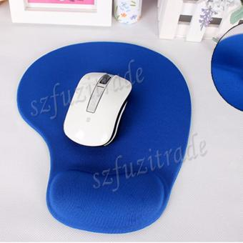 Harga Office Mouse Pad Mat Mousemat with Gel Anti-Slip Wrist Support for PC Mac Laptop - Int'L