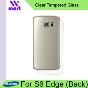 Tempered Glass Screen Protector (Clear) For Samsung Galaxy S6 Edge Back