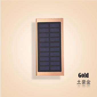 Harga Mobile Solar Power Bank 50000 mAh (Gold)