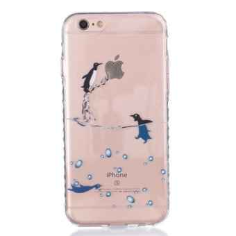 Harga Moonmini Case for iPhone 6 / iPhone 6s 4.7 inch Anti-slip Shockproof Soft TPU Back Case - Penguin - intl