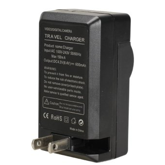 Harga Black Camera Charger Charger for Olympus Li-70B Li-50B VG-120 VG-130 VG-140 (EXPORT)
