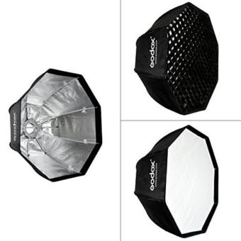 Harga Godox SB-UE 80cm / 31.5in Portable Octagon Honeycomb Grid Umbrella Softbox with Bowens Mount for Speedlite