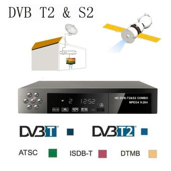Harga MITPS Full HD 1080P DVB-T2+S2 Video Broadcasting Satellite Receiver Set-up Box TV HDTV EU - intl