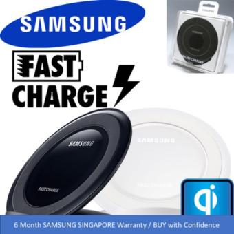 Harga Samsung Original (EP-NG930) S7/ S7 Edge / Note 5 / S6 Edge+ Wireless Fast Charger Stand (Black)