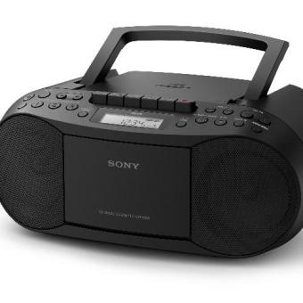 Sony CFD-S70 CD/Cassette Boombox with Radio