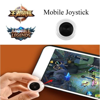 Harga Tri Dynasties Smartphone Fling Mini Joysticks Zero Any Touch Screen Joystick Perfect Mobile Game Controller For iPhone Android iPadmini Tablet Arcade Games Mobile Legend, Fifa, & Etc - intl