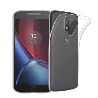 Harga Coque Motorola Moto G4 Plus Silicone Case Transparent Soft Ultra-thin TPU For Moto G4 Plus Smartphone Protective Cover - intl
