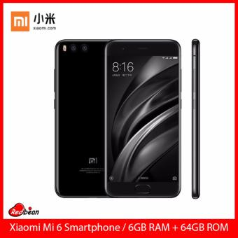 Harga Xiaomi Mi 6 Smartphone / 64GB ROM + 6GB RAM / 5.15inch Display / Export Set