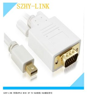 Harga Mini displayport to VGA cable mini DP to VGA