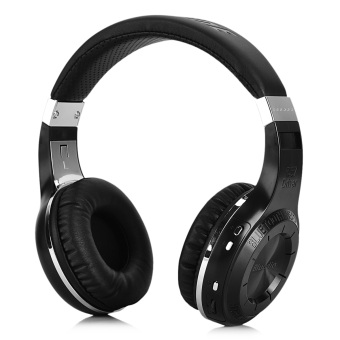 Harga Bluedio HT Bluetooth V4.1 Headband Headphones Headsets w/ Mic. - Black