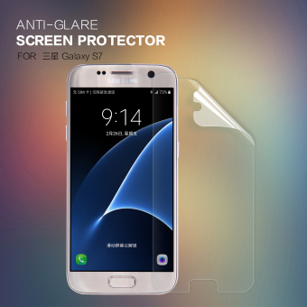 2 pcs/lot Matte Screen Protector For Samsung Galaxy S7 NILLKIN Anti-Glare protective film for Galaxy S7 with retailed package (Clear) - intl