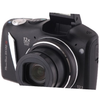 Harga Canon Powershot SX130 IS Digital Camera 12MP, 12X ZOOM REFURBISHED AS GOOD AS NEW ! CANON WHITE BOX PACK.