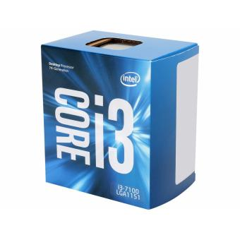 Harga Intel Core i3-7100 Kaby Lake Dual-Core 3.9 GHz LGA 1151 51W BX80677I37100 Desktop Processor Intel HD Graphics 630