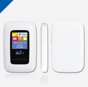 Harga 4G Wifi Router 100Mbps Portable LTE Ulocked Wireless 3G 4G Mifi Router - intl