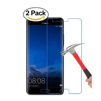 [2 Pack]Huawei P10 Plus Screen Protector- [9H Hardness] [Crystal Clear] [Bubble Free] Tempered Glass Screen Protector for Huawei P10 Plus - intl