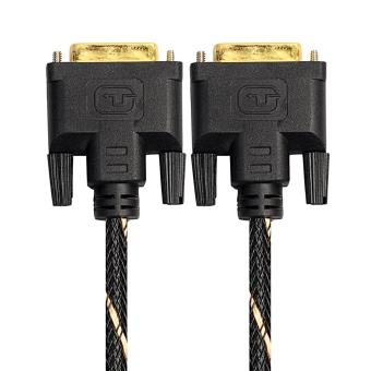 Harga Digital Monitor DVI D to DVI-D 24+1 Gold Male Pin Dual Link HD TV Cable(5m) - intl