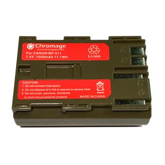 BP-511 Rechargeable Lithium ion Battery for Canon 5D, 50D, 40D, 30D, 20D, 10D, 1D, D30, D60, 300D, Powershot Pro 1, G6, G5, G3, G2, G1, Pro90 is