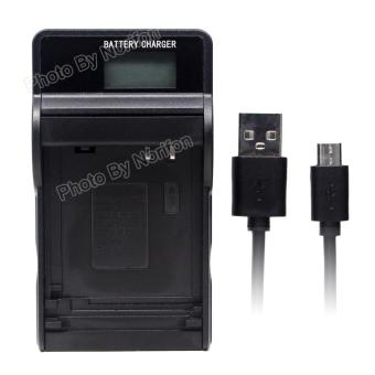 Harga NB-5L LCD Ultra Slim USB Charger for Canon PowerShot SD880 IS SD850 IS SD870 IS SD800 IS SD970 IS SD990 IS SD950 IS SD900 SX230 HS S110 Digital IXUS 980 IS 960 IS Camera and More - intl