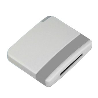 30 Pin Dock Bluetooth Music Audio Adapter for iPhone iPod Grey