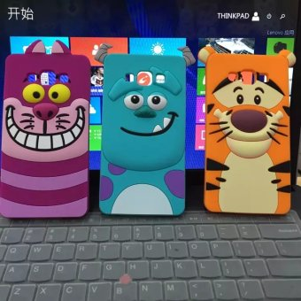 Harga New disney park sulley silicone shell phone samsung a3 a5 A7 nyan CAT tigger mobile phone protective shell