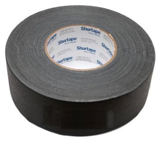 Harga 55mm x 55m Black Shurtape Gaffer tape (L)
