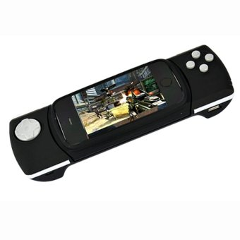 Harga SuperCart New Black Play Games Game Handle For iPhone iPad (Black)