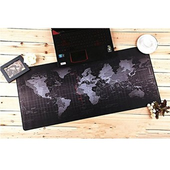 Harga 31.5x11.8x0.12'' Large World Map Speed Game Mouse Pad Mat Gaming Mousepad New