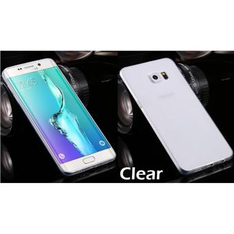 Transparent Crystal Clear TPU Case Casing Cover for Samsung Galaxy S8 Plus S8+ (Clear)