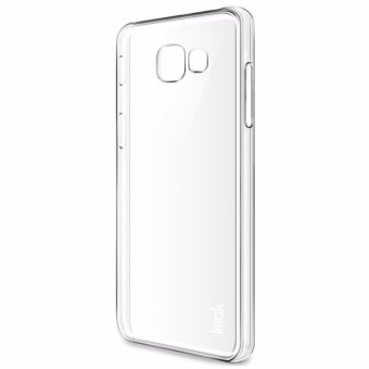 Harga IMAK Extra Wear Hard Plastic Crystal Back Cover case For Samsung Galaxy A7 2017 A720F - (Transparent Clear) - intl